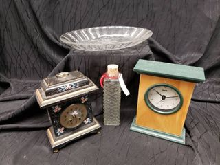 Clocks   Glass Containers