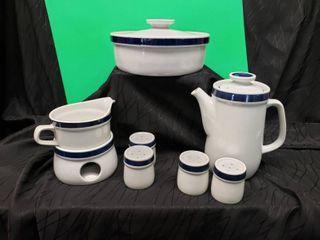 Japanese Stoneware Dish Set