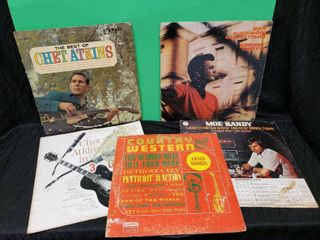 lP Conway Twitty  Chet Atkins  Moe Bandy lot