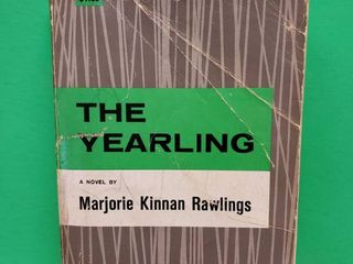 The Yearling Book by Marjorie K Rawlings