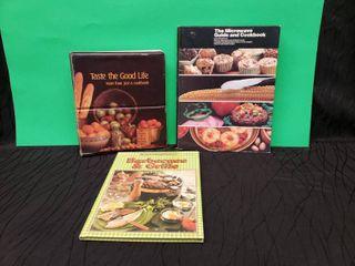 Vintage Cookbooks lot