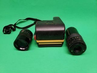 Polaroid Camera   2 Camera lens