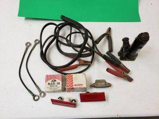 Auto Repair lot  Including Jumper Cables