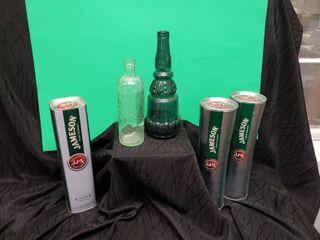 liquor Containers   Bottles lot