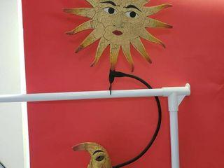 Sun   Moon Garden Decor