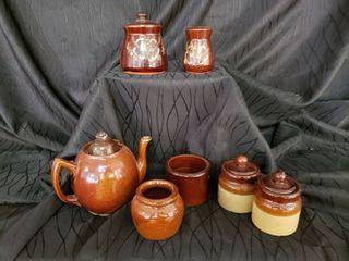 Vintage Pottery lot  Including Japanese Set
