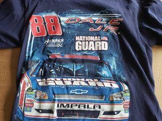 Dale Earnhardt Jr T shirt Blue