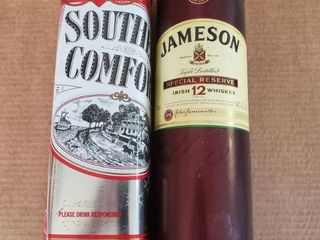 Southern Comfort and Jamison Storage Cylinders