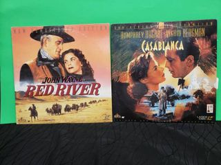 laser Discs Casablanca   Red River