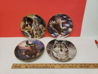 limited Edition Collector Plates  4 pc