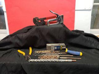 Misc  Hand Tools   Includes 12 Drill Bits