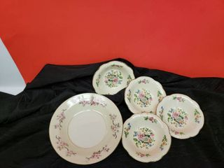 Homer China   And Other China 5 Pc