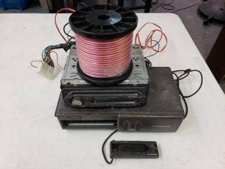 Pioneer CD Changer  Sony Head Unit   New Speaker Wire