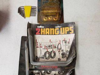 Spring Hinges   Garage Hangers and Allen Head Set