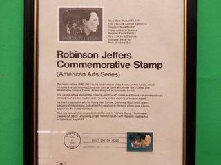 Stamp Collectable Framed