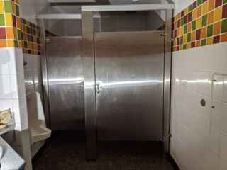 Bathroom Stalls  Buyer Responsible For Removal