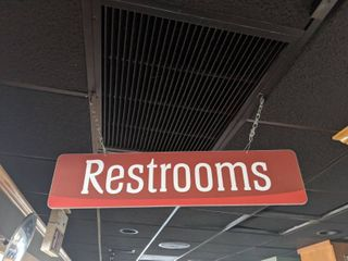 Restroom Signs  Buyer Responsible For Removal