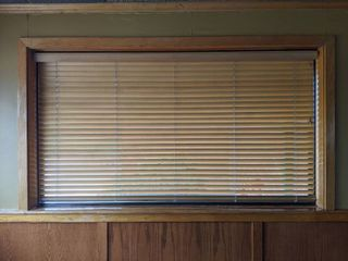 (2) Wooden Blinds