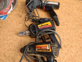 one Sears timing light one Dremel tool one Wagner power stripper 1 Wagner hot air gun all working