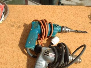working one Makita drill and one shop craft drill