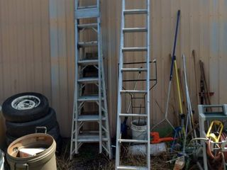 Sears utility 30 foot extension ladder