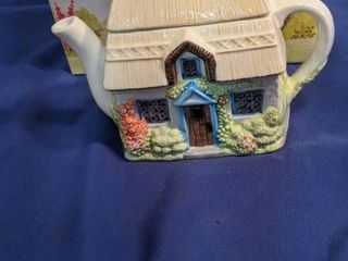 The village teapot collectibles summer cottage new inbox