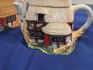 the village teapot collectible Summer village new inbox