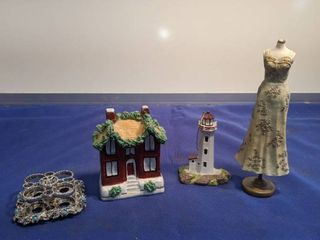 lipstick holder White House haves and dress figurine