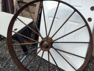 iron implement wheel 46 in tall