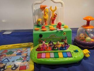four toddler toys
