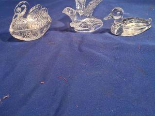 three glass birds