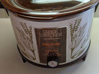 6 q crock watcher crock pot