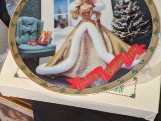 Holiday Barbie 1994 litmited addition collectible plate