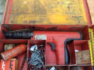 untested Hilti DX 350 powder actuated tool