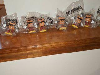 7 sonic Brown bag buddies in bags