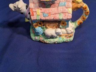 cowl teapot