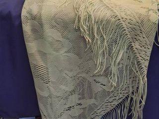green large shawl