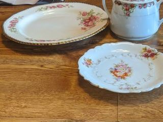 would Ivory wear plate England 253 and sugar and a small plate