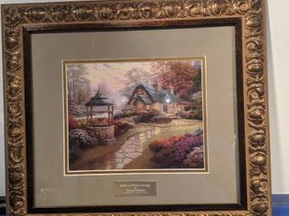 Make wish cottage by Thomas kinkade library edition