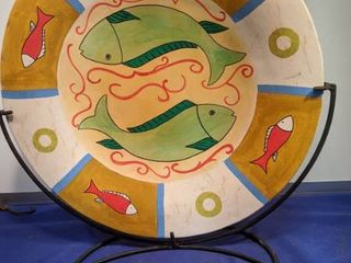 Pisces pottery made in Mexico