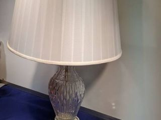 clear glass lamp works