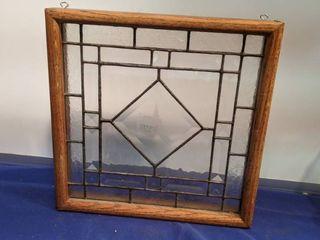lead glass church window