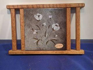 oak trivet by the Daniel company