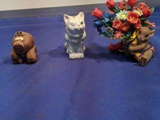three little figurines