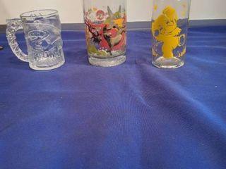 Batman Shrek and jumbo glasses