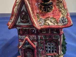 cozy corner ceramic house