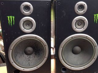 one pair JVC sp7700 speakers untested