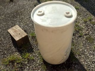 30 gallon plastic barrel