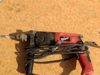 working Milwaukee half inch hammer drill