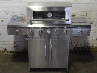 MM Outdoor 5 Burner SS Grill.